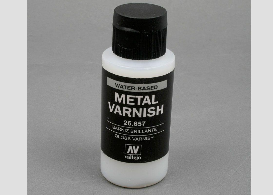 Metal Varnish Water Based