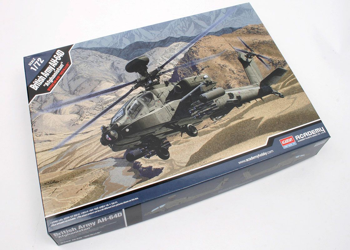 British Army AH-64D Afghanistan