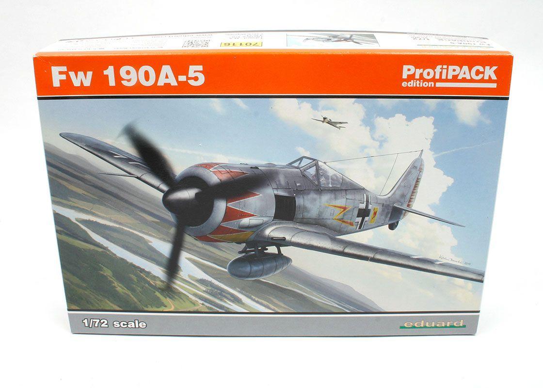 Eduard 1:72 Fw 190A-5 Colored PE Detail for Eduard Kit #70116