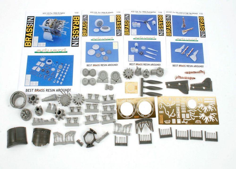 EDUARD BRASSIN 632124 Propeller for Revell® Kit Fw190A-8 in 1:32