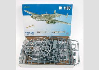 Eduard 1//72 Messerschmitt Bf 110 C # 7426